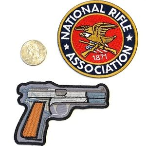 Other - National Rifle Association Patch Iron On NRA DIY